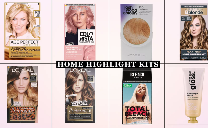 Home highlight kits that will give you salon-worthy results