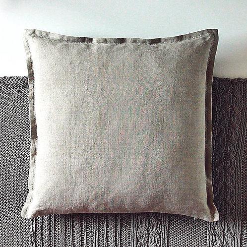 Natural linen pillow case