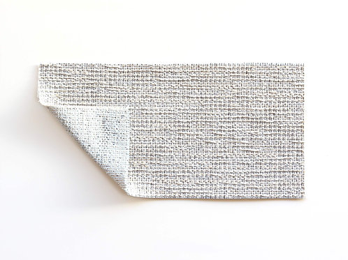textured warm light gray upholstery fabric for custom seat cushions