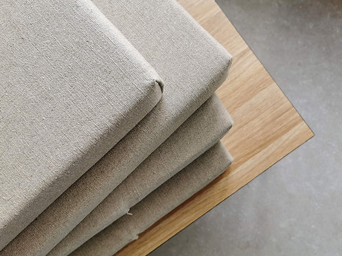 Custom cushions for modern bench