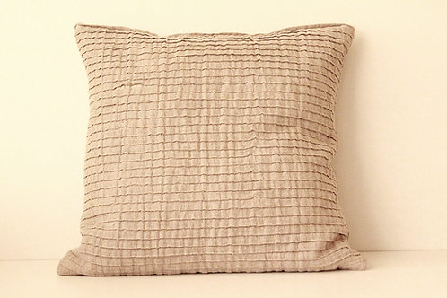 Natural linen pillow case for modern decor