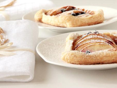 Apple & Honey Tarts