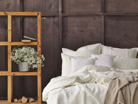 Tips for fitting a linen duvet cover with your duvet