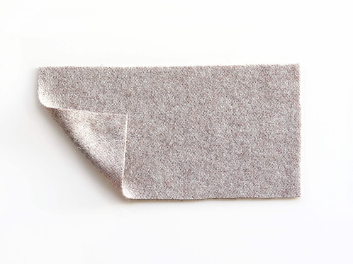 grayish beige wool upholstery fabric for custom bench cushions
