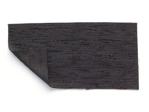 solid deep black velvety textured fabric