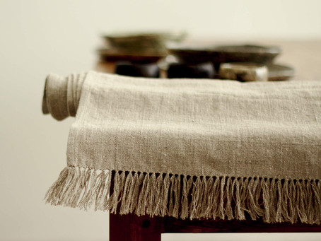 What color is flax fabric: about the natural linen color