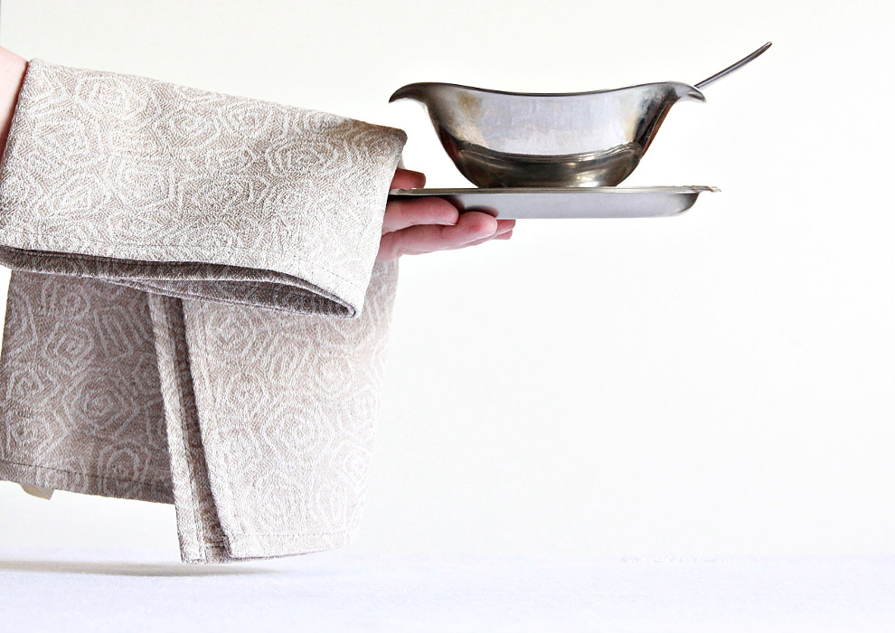 Modern stylish kitchen towel