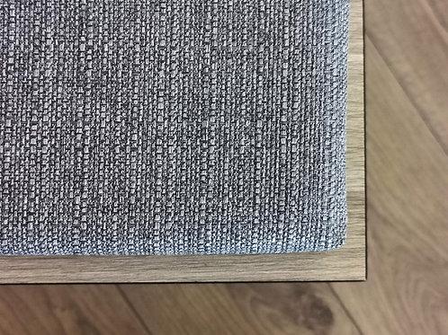 Gray bench cushion in custom sizes
