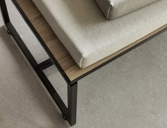 linen cotton custom bench cushion linens
