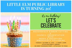 Library 20th Anniversary Invitation_Ligh