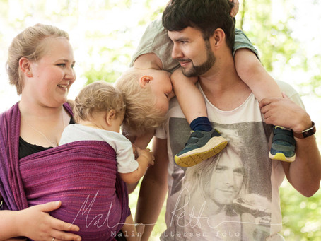 Familiefotografering i Bøkeskogen