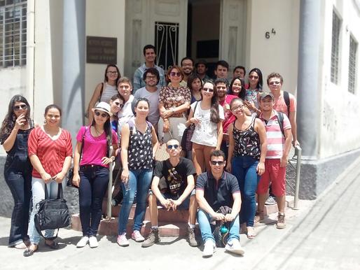 Visita ao IHGP e Arquivo Eclesiástico da Paraíba