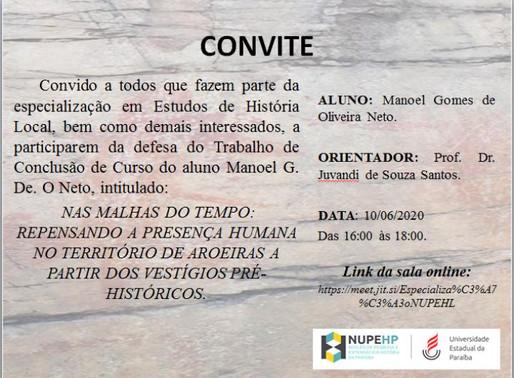Convite ao TCC