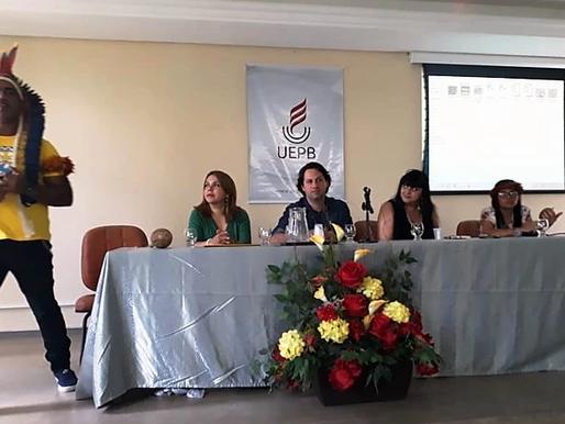 Participação de membros do NUPEHP em evento indígena.