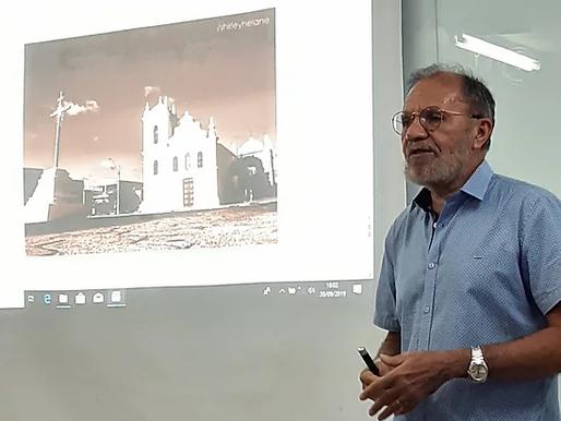 Historiador pombalense palestra sobre a inventariação da tricentenária Igreja do Rosário