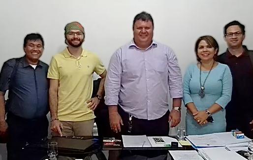 NUPEHP se reúne com o prefeito de Boa Vista-PB