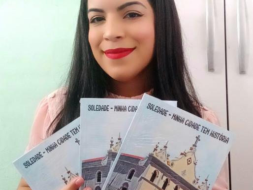 Livro infantil sobre a história de Soledade é lançado por historiadora da UEPB