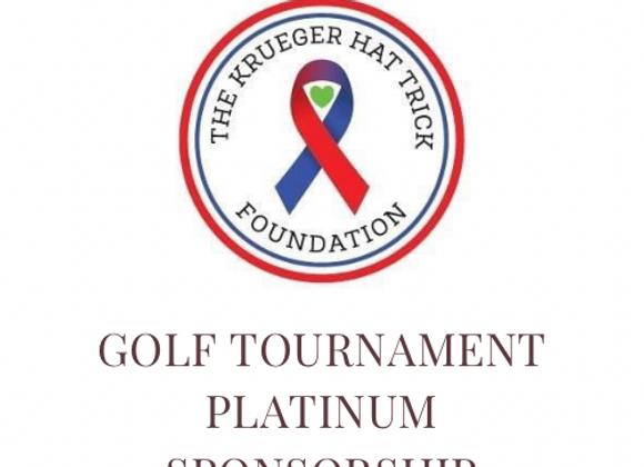 Platinum Golf Tournament Sponsor