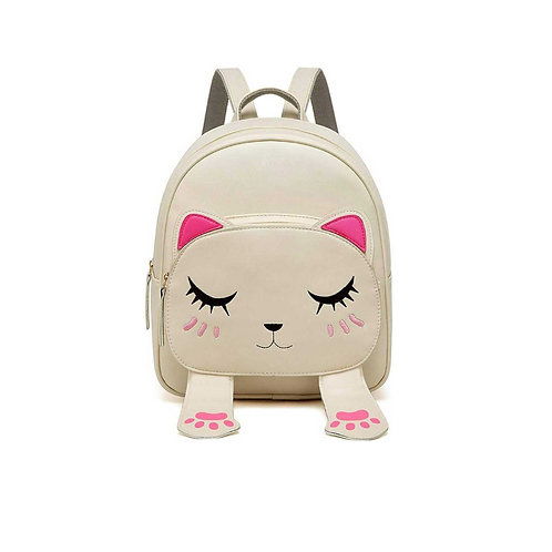 Cute Small Cat Style Backpack for Girls