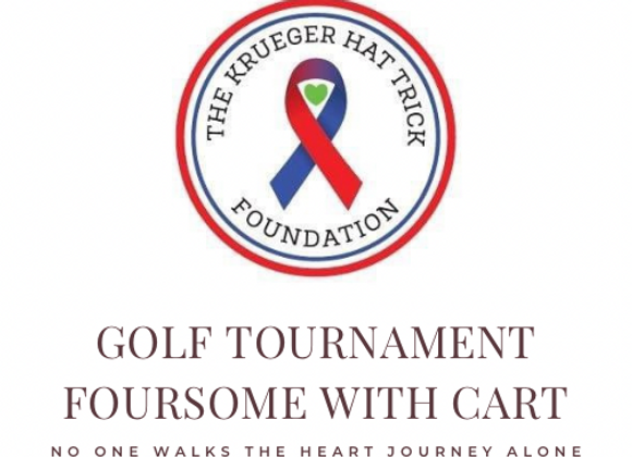 Krueger Hat Trick Golf Tournament Ticket