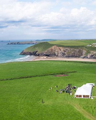 (watermarked) C&D Wedding - Aerial photo
