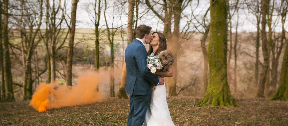 A fun day at Trevenna Barns, Cornwall - Wedding photographer