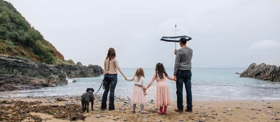 Family Photoshoot - Polhawn Fort, Cornwall
