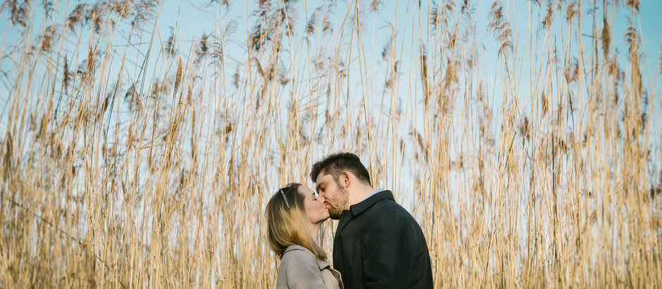 Engagement Portrait couples photoshoot, Cornwall photographer