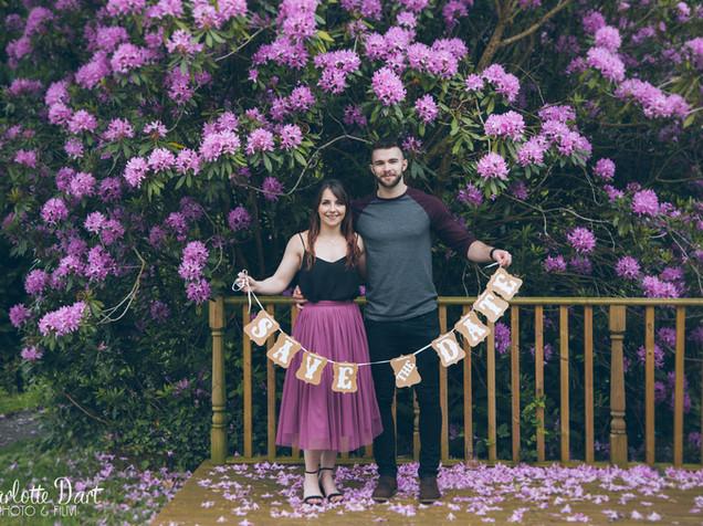  Engagement Shoot  Tropical Gardens of Canonteign Falls