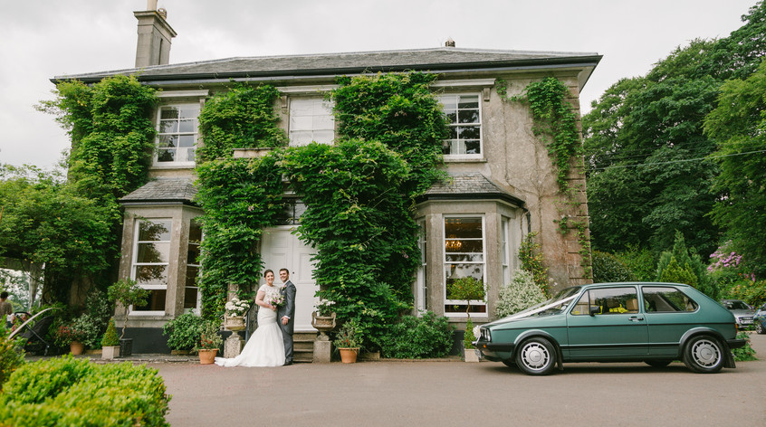 Intimate Wedding at The Horn of Plenty Hotel