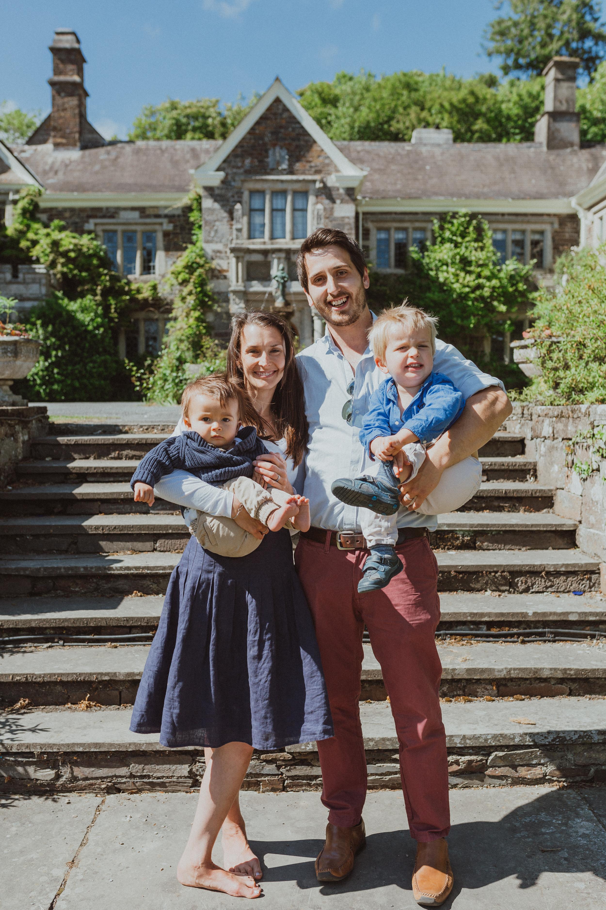 Family Portraits Lewtrenchard Manor