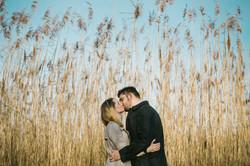 engagement photoshoot cornwall