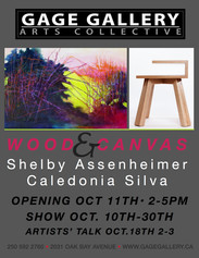 Gage Gallery exhibition with Shelby Assenheimer