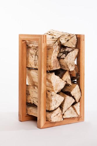 Stack log basket