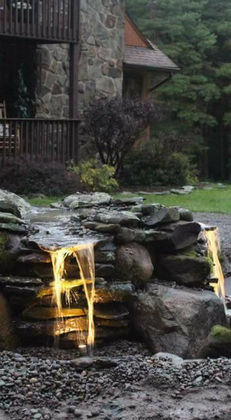 Pondless Waterfalls, Ponds