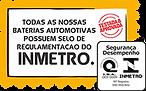 Selo INMETRO - Disk Avante Baterias em Sorocaba e Região