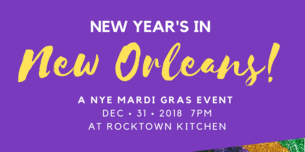 New Year's in New Orleans!