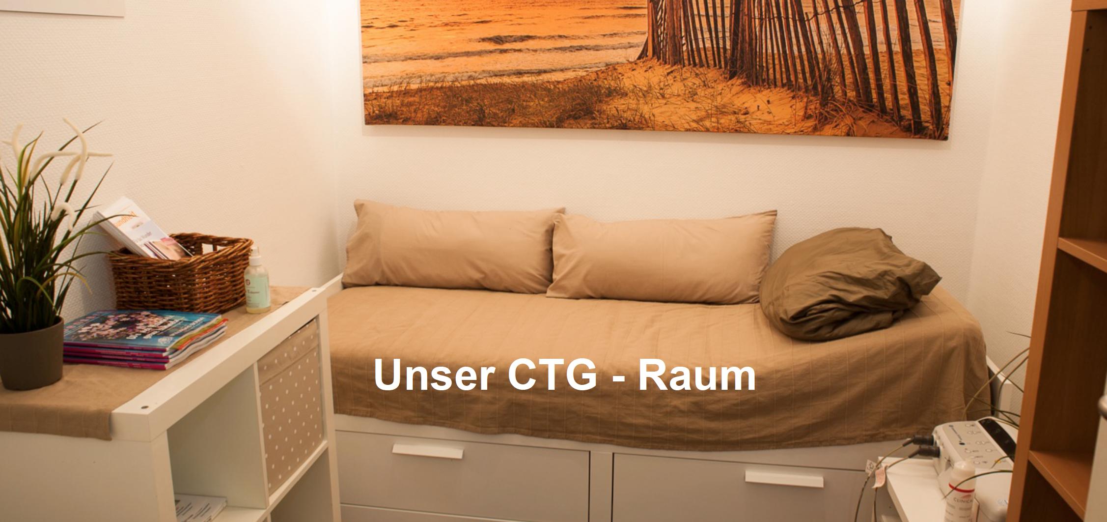 Praxis Lenhard CTG-Raum