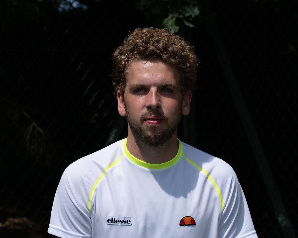 Sports; Tennis; Mike Digby Headshot, Nor