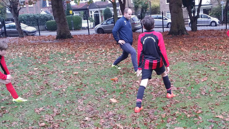 Saturday Training in the Park for Youth Reds