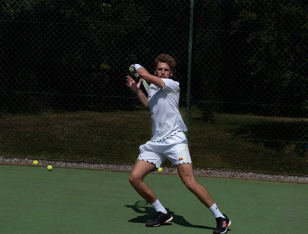 Sports; Tennis; Mike Digby FH, Norfolk-2