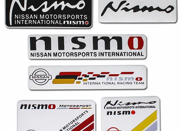 Nismo Aluminum Stickers
