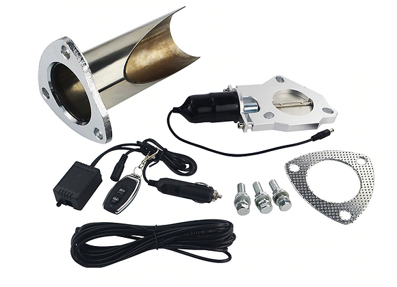 Stainless Steel Remote Exhaust Cutout