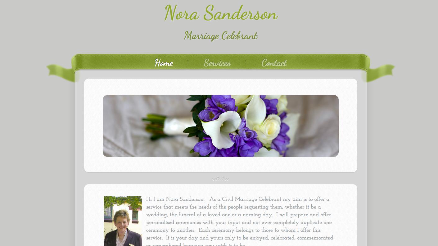 Nora Sanderson | Celebrant