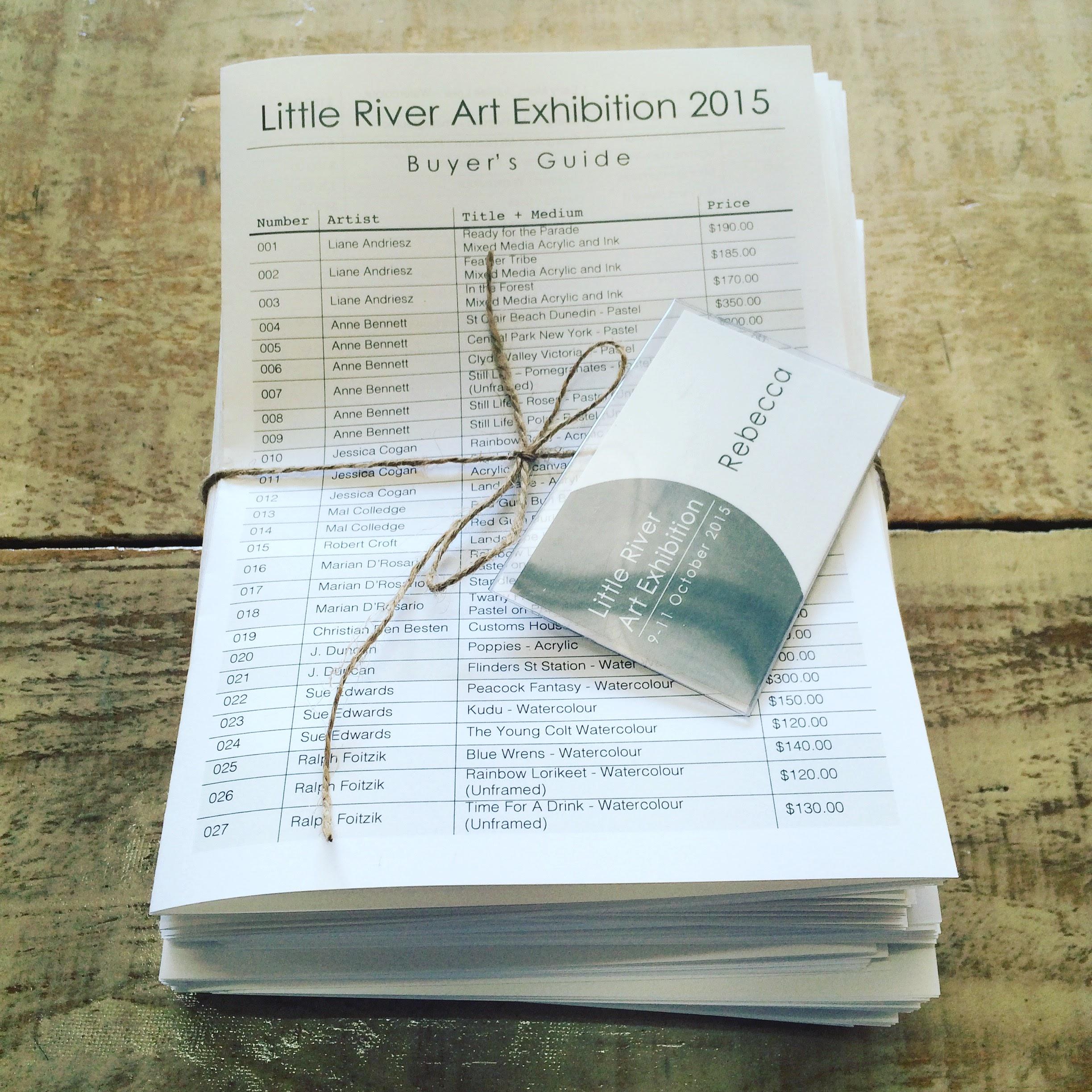 Little River Art Exhibition 2015