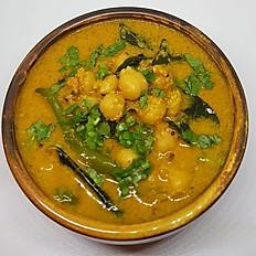 South Indian Coconut Chana Masala