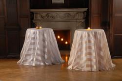 Long Wedding Cake Table Linens
