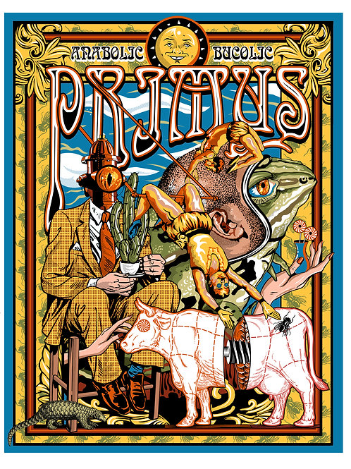 Primus - Signed Print - Limited Edition of 100
