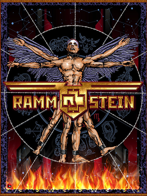 RAMMSTEIN - Signed Print - Limited edition of 50