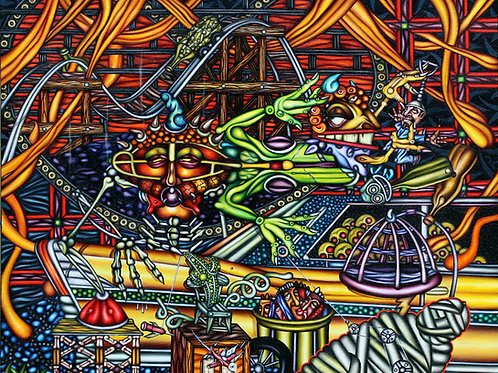 Recycler - Signed Print - Limited Edition of 50